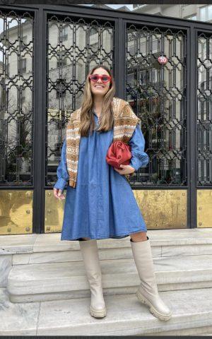 שמלת ג'ינס קיארה