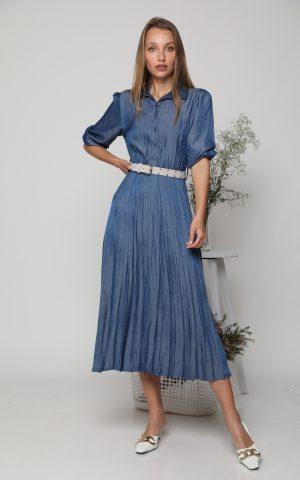 שמלת ליילה כחול